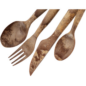Kupilka Cutlery Set 4 Pieces, brown